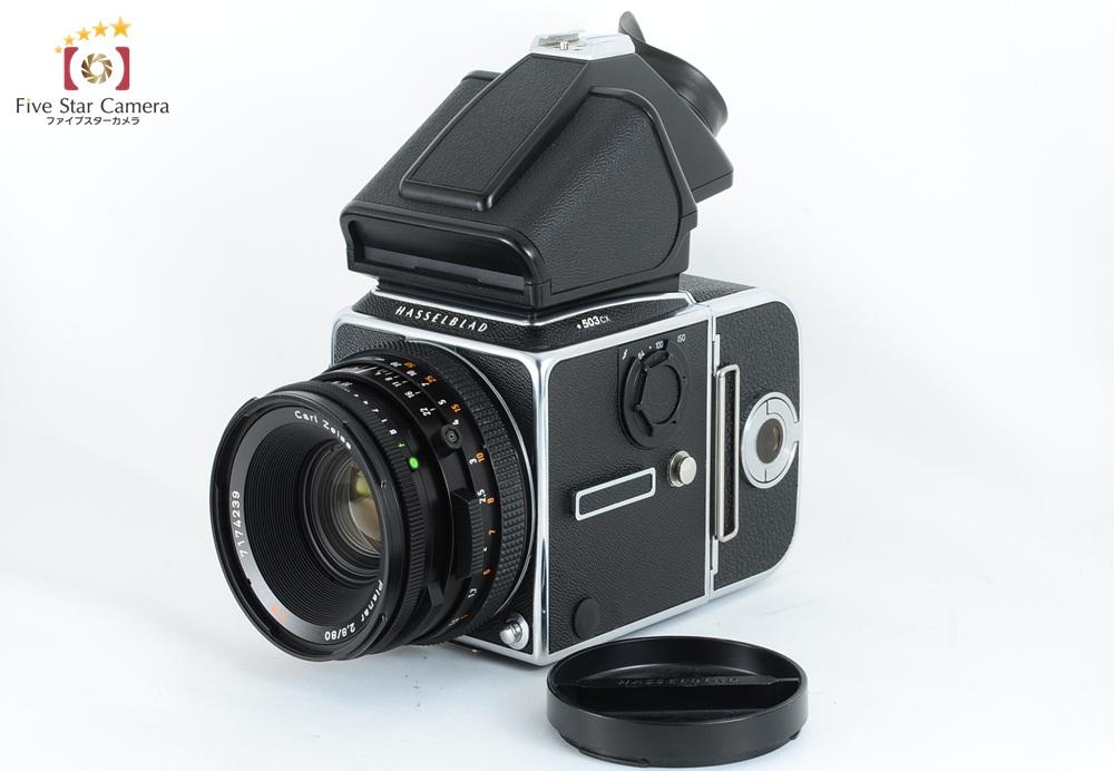 【中古】 HASSELBLAD 503CX + CF Planar 80mm f/2.8 T*