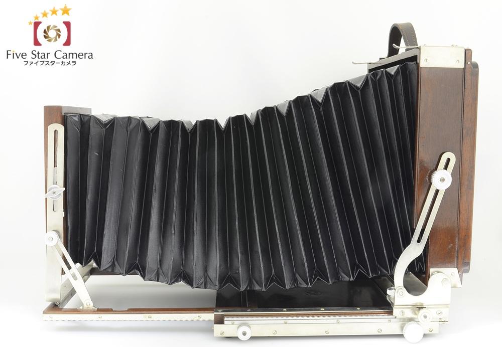 【中古】Deardorff ディアドルフ 8×10 木製大判フィルムカメラ