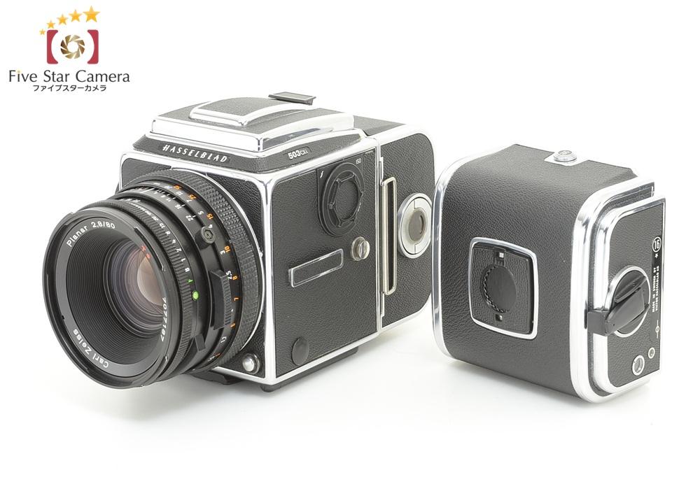 【中古】HASSELBLAD ハッセルブラッド 503CXi + CF Planar 80mm f/2.8 T *