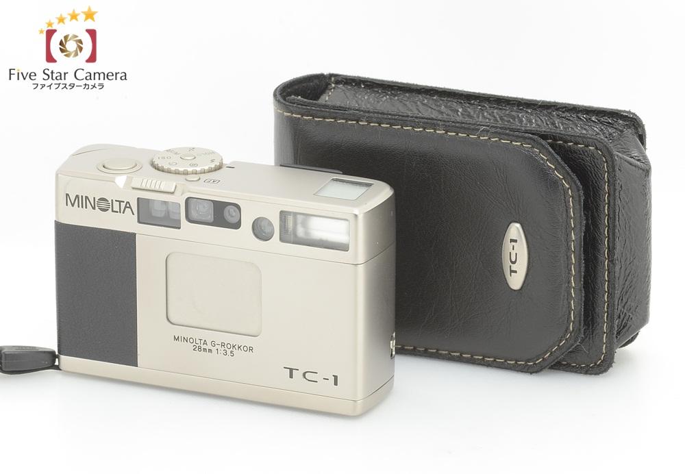 【中古】MINOLTA ミノルタ TC-1 コンパクトフィルムカメラ