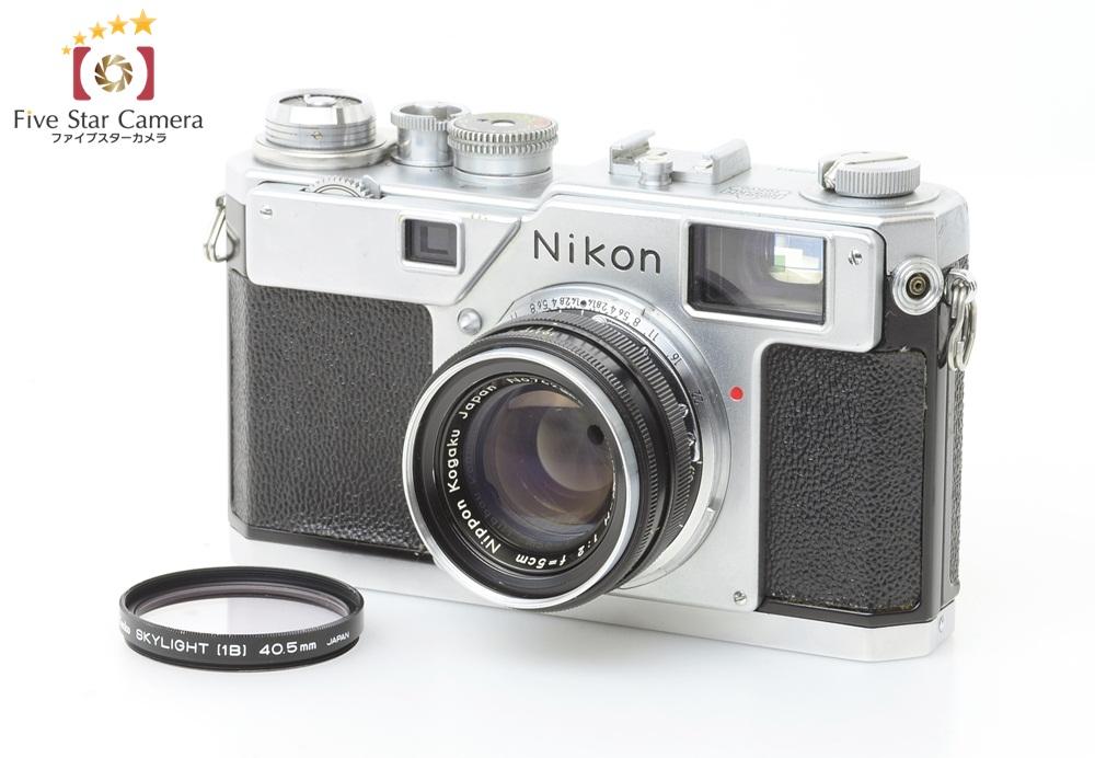 ニコンのレンジファインダーカメラ製品一覧