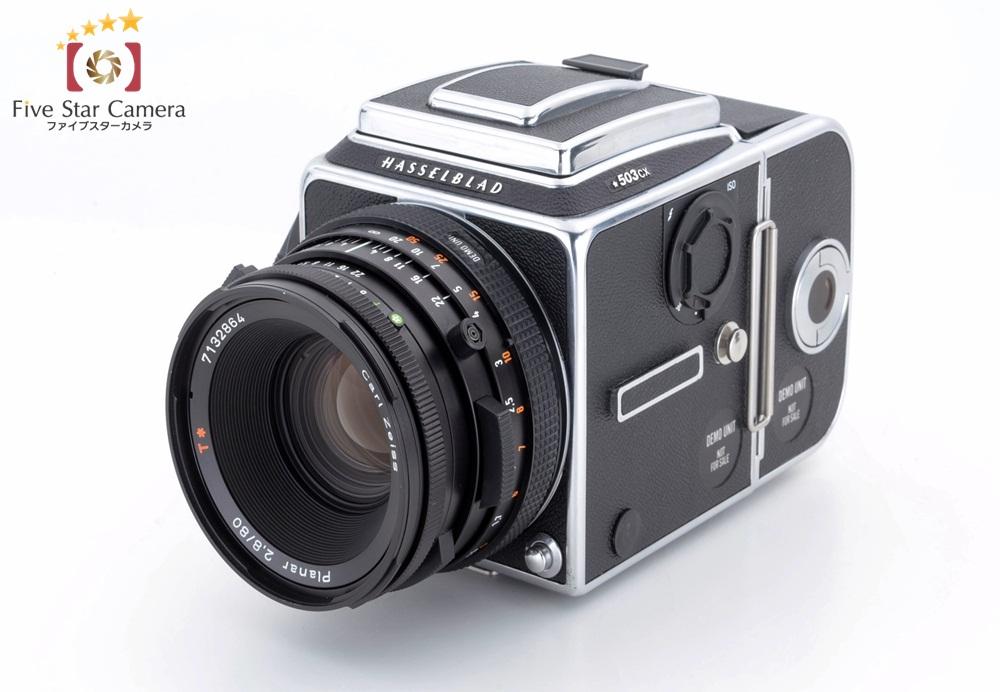 【中古】HASSELBLAD ハッセルブラッド 503CX + Carl Zeiss CF Planar 80mm f/2.8 T* デモ機 非売品