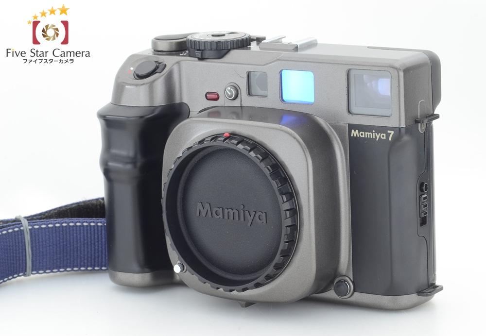 【中古】Mamiya マミヤ 7 中判フィルムカメラ 7II仕様改造品