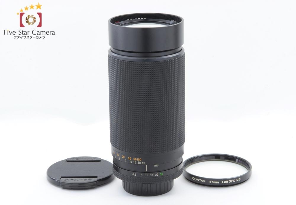 【中古】CONTAX コンタックス Carl Zeiss Vario-Sonnar 100-300mm f/4.5-5.6 T* MMJ