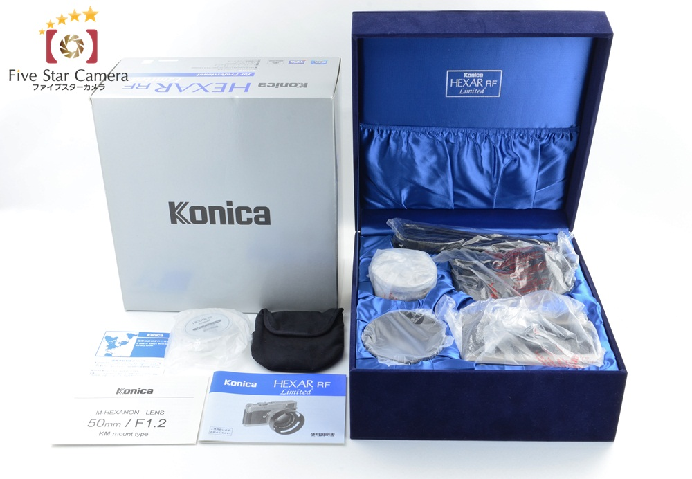 【未使用品】Konica コニカ ヘキサーRF2001リミテッドエディションモデル + M-HEXANON 50mm f/1.2 LIMITED