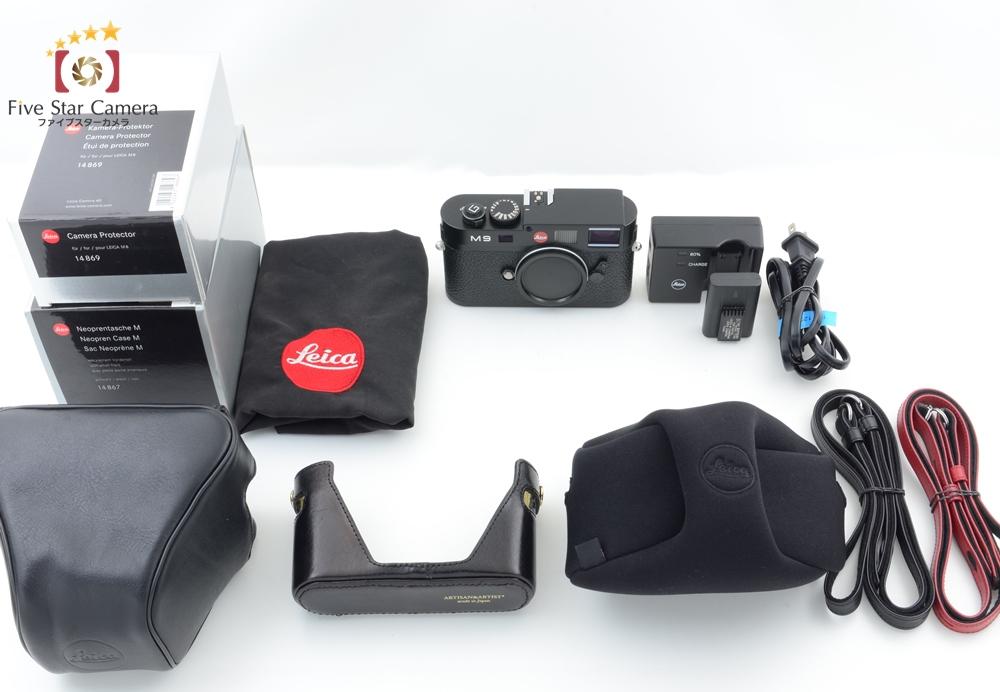 【中古】Leica ライカ M9 ブラック デジタルレンジファインダーカメラ ケース3種付属