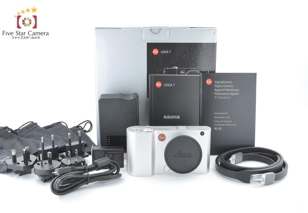 【中古】Leica ライカ T Typ 701 シルバー ミラーレス一眼カメラ