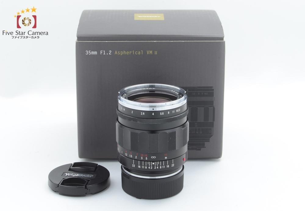 【中古】Voigtlander フォクトレンダー NOKTON 35mm f/1.2 Aspherical VM II ライカ Mマウント用