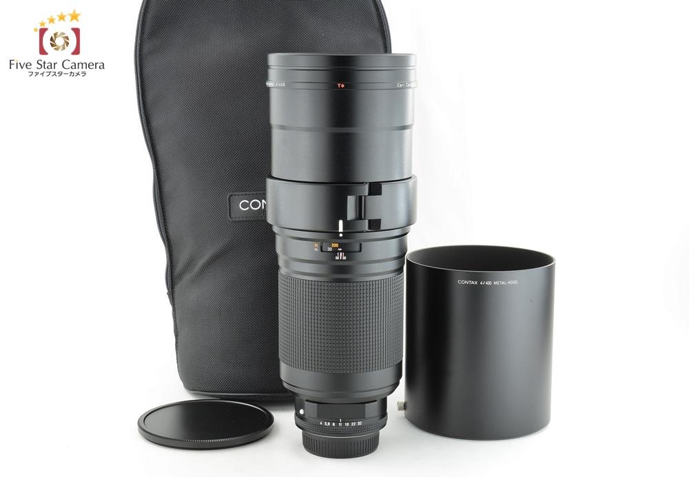 【中古】CONTAX コンタックス Carl Zeiss Tele-Apotessar 400mm f/4 T*