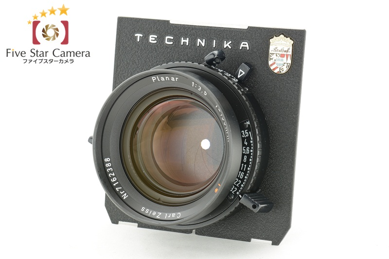 【中古】Carl Zeiss カールツァイス Planar 135mm f/3.5 T* 黒シャッター