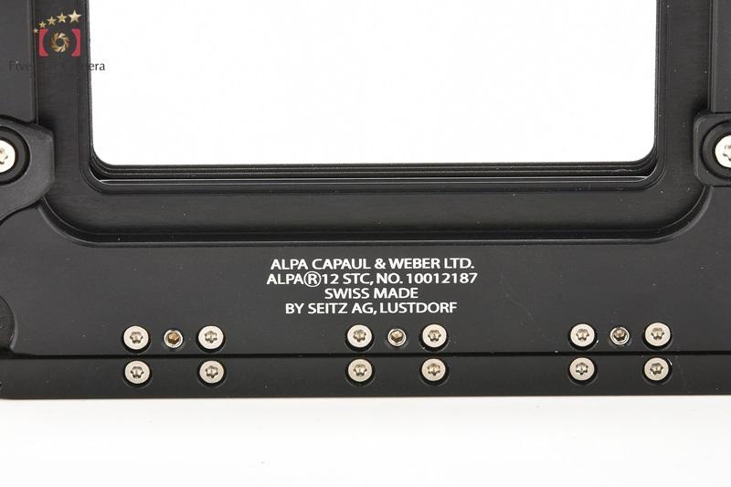 【中古】ALPA アルパ 12 STC ナチュラルローズウッドグリップ + ビューファインダー付属