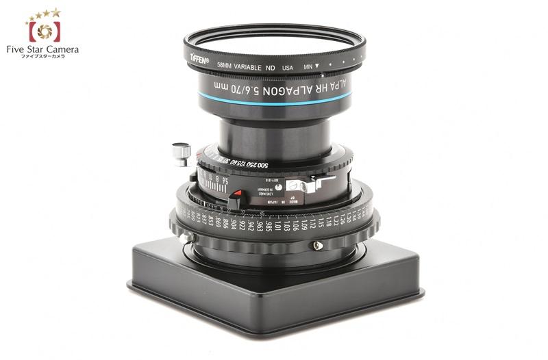 【中古】Rodenstock ローデンシュトック ALPA HR ALPAGON 70mm f/5.6 SB17 ショートバレル ALPA 12 シリーズ用