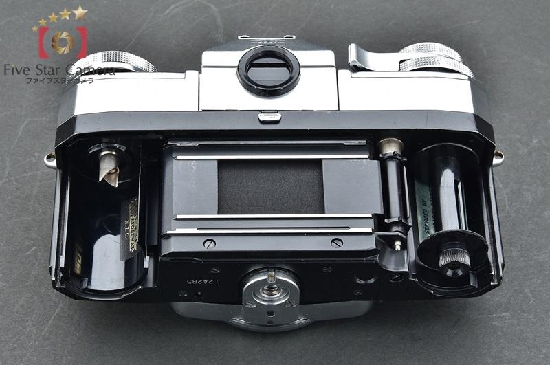 【中古】Zeiss Ikon ツァイスイコン Contarex Special コンタレックス スペシャル + Planar 55mm f/1.4 白鏡筒 + ウエストレベルファインダー + ピントグ