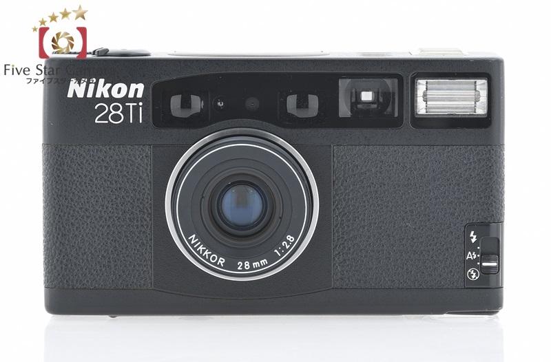 【中古】Nikon ニコン 28Ti コンパクトフィルムカメラ