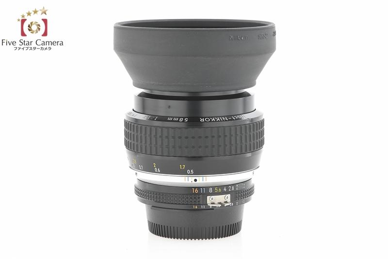 【中古】Nikon ニコン Ai-S Noct-NIKKOR 58mm f/1.2