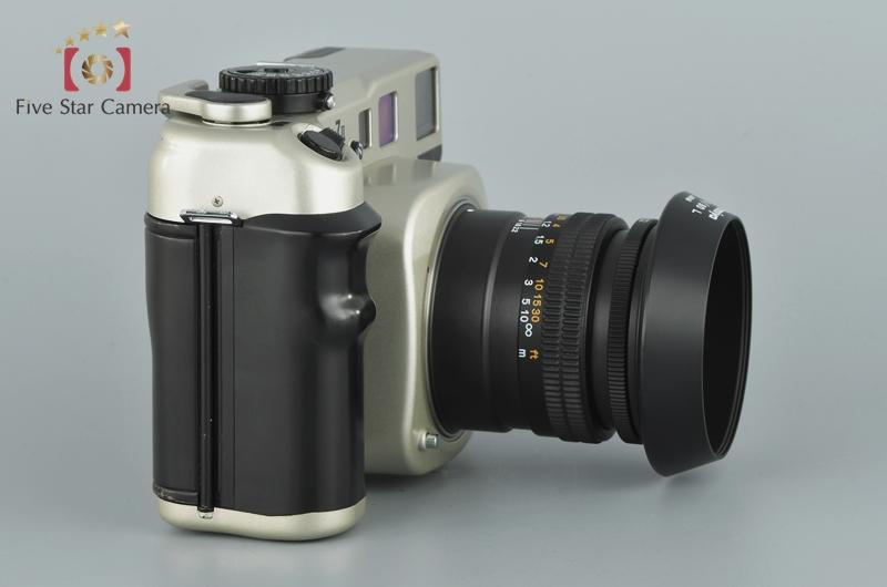 【中古】Mamiya マミヤ 7II シャンパンゴールド + N 80mm f/4 L