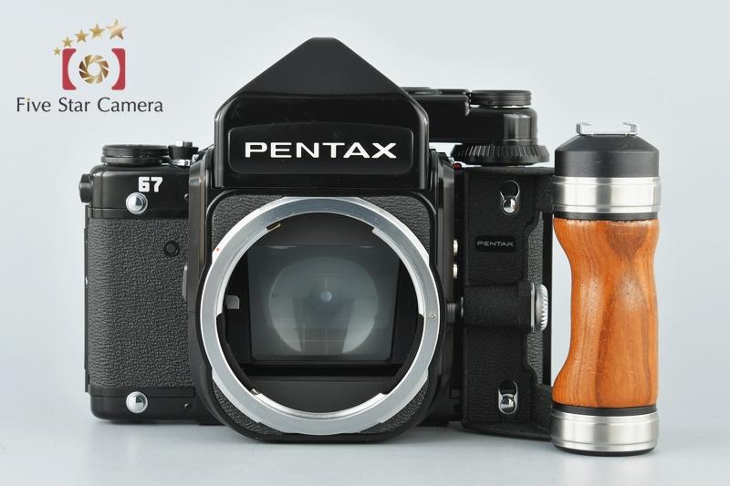 【中古】PENTAX ペンタックス 67 TTL 後期 + SMC 67 105mm f/2.4