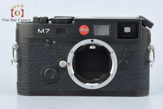 【中古】Leica ライカ M7 0.72 ブラック レンジファインダーフィルムカメラ